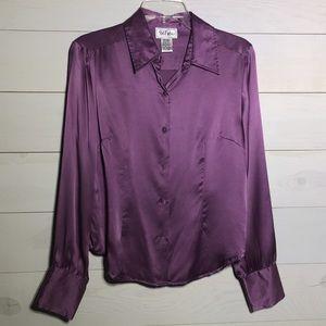 Bob Mackie silk shirt